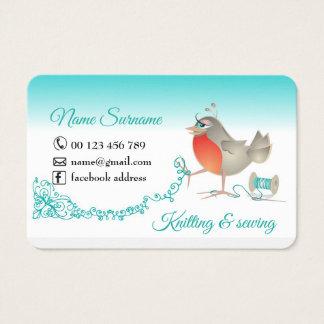 Cartão De Visitas confecção de malhas e sewing