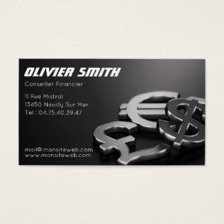 Cartão De Visitas Conselheiro Financeiro