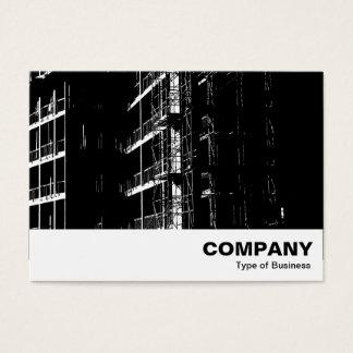 Cartão De Visitas Construção alto contraste
