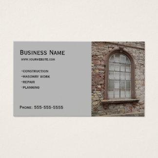 Cartão De Visitas Construção - alvenaria