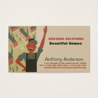 Cartão De Visitas Construtor e jardineiro