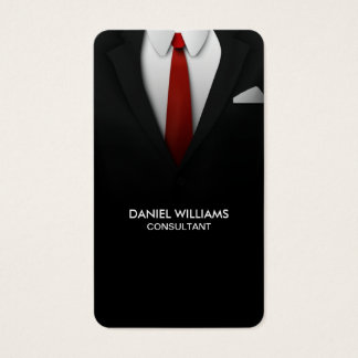Cartão De Visitas Consultante moderno original elegante profissional