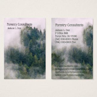 Cartão De Visitas Consultantes da silvicultura/cartão de visita