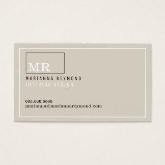 Cartão De Visitas contato-cartão moderno da introdução, design de