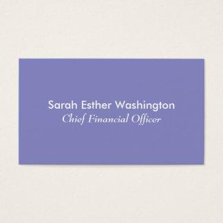 Cartão De Visitas Cor do Lilac