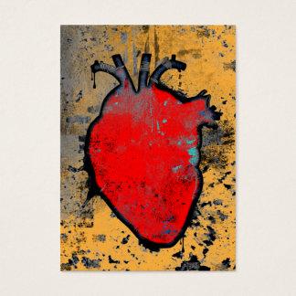 Cartão De Visitas coração anatômico