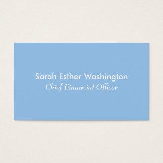Cartão De Visitas Cores azuis e cor-de-rosa