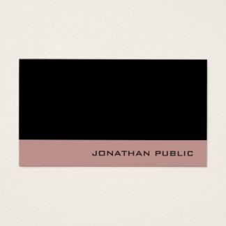 Cartão De Visitas Cores elegantes profissionais criativas modernas