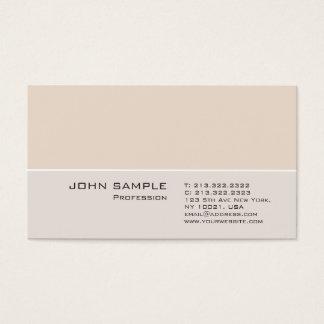 Cartão De Visitas Cores elegantes simples lisas profissionais