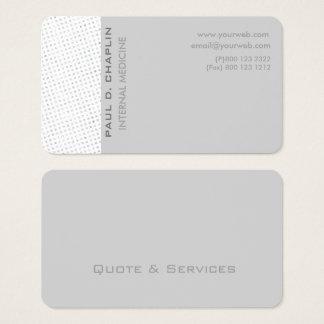 Cartão De Visitas Cores Pastel nervosas profissionais elegantes