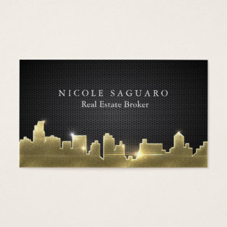 Cartão De Visitas Corretor imobiliário