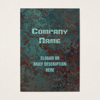 """Cartão De Visitas Corrosão carnudo vertical do impressão """"de cobre"""""""