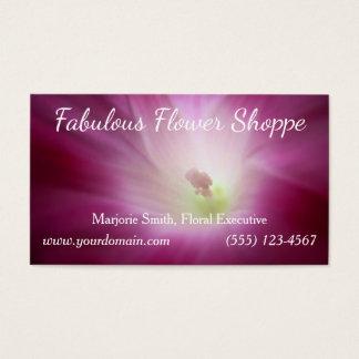 Cartão De Visitas Costume cor-de-rosa magenta bonito brilhante da
