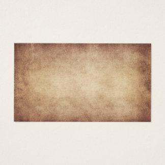 Cartão De Visitas Costume do fundo do papel da antiguidade do