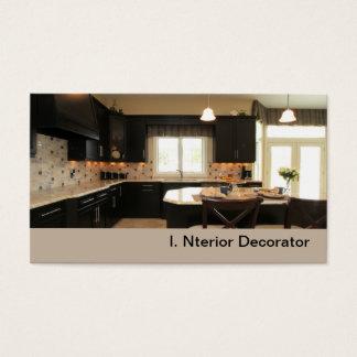 Cartão De Visitas cozinha luxuosa contemporânea