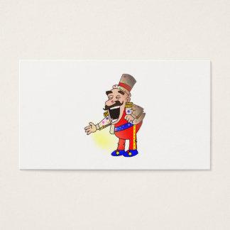 Cartão De Visitas Cozinheiro chefe do circo