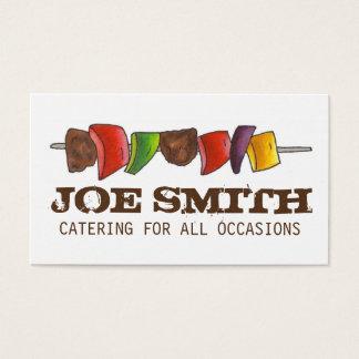Cartão De Visitas Cozinheiro chefe vegetal da restauração do