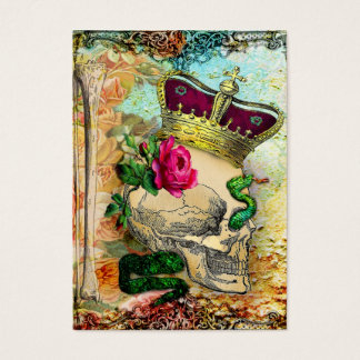 Cartão De Visitas crânio