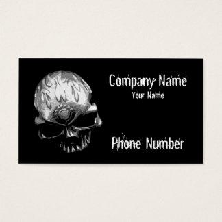 Cartão De Visitas Crânio principal da engrenagem