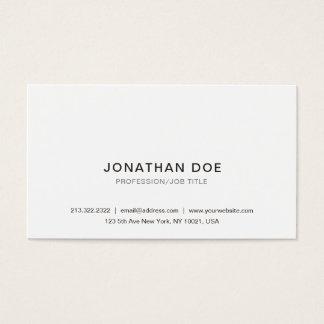 Cartão De Visitas Criar seu próprio elegante bonito clássico