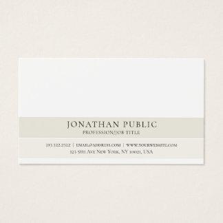 Cartão De Visitas Criar seu próprio elegante lustroso profissional