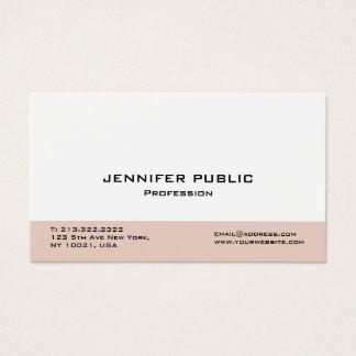 Cartão De Visitas Criar seu próprio elegante profissional moderno