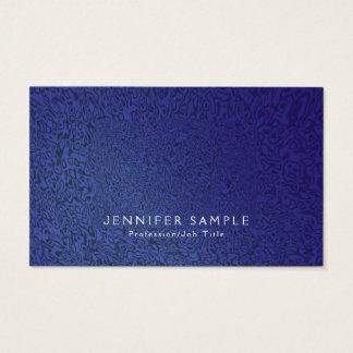Cartão De Visitas Criativo moderno do Fractal elegante profissional