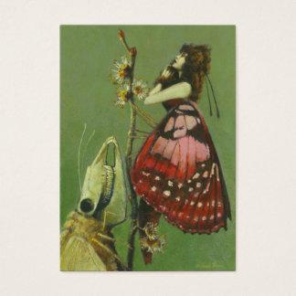 Cartão De Visitas Cromos de colecção góticos dos artistas da traça