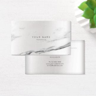Cartão De Visitas Curso cinzento VIP da prata da nomeação da pintura