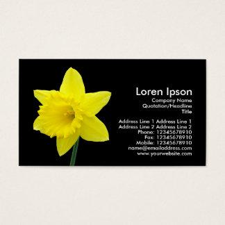 Cartão De Visitas Daffodil - preto