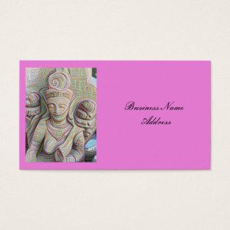 Cartão De Visitas dakinis cinzelados pedra Thunder_Cove