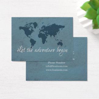 Cartão De Visitas Deixe a aventura começar