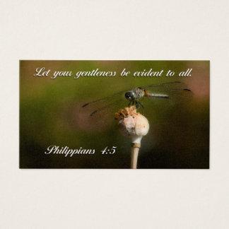 Cartão De Visitas Deixe seu gentleness ser evidente a todos