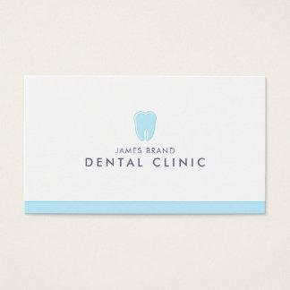 Cartão De Visitas Dentista dental minimalista da clínica