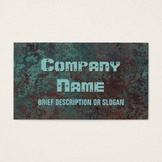 """Cartão De Visitas Description de cobre"""" do impressão 'da corrosão """""""