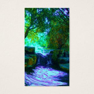 Cartão De Visitas desejando águas