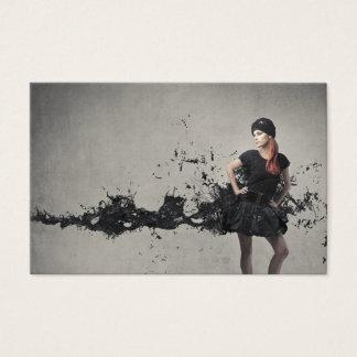 Cartão De Visitas Desenhador de moda