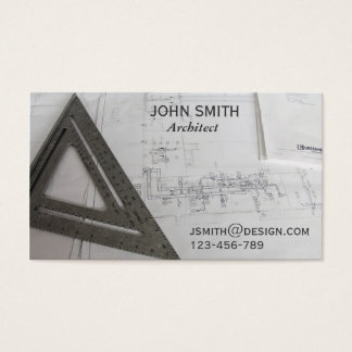 Cartão De Visitas Desenhista freelance design do arquiteto
