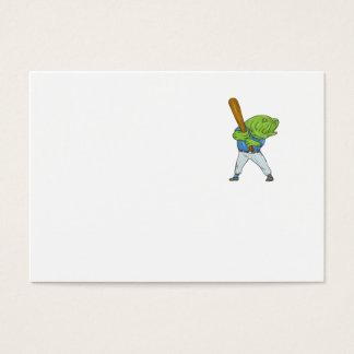 Cartão De Visitas Desenhos animados da batedura do jogador de