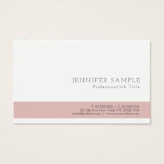 Cartão De Visitas Design à moda profissional moderno de Minimalistic