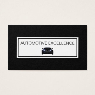 Cartão De Visitas Design automotriz dos serviços