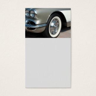 Cartão De Visitas Design clássico de Chevrolet Corvette