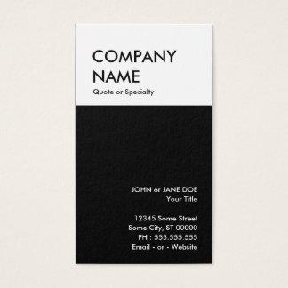 Cartão De Visitas design corajoso seus próprios