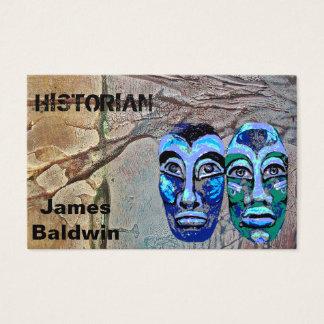 Cartão De Visitas Design do historiador