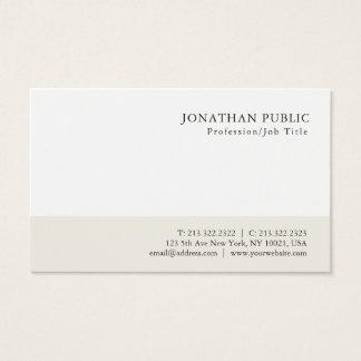 Cartão De Visitas Design elegante minimalista moderno profissional
