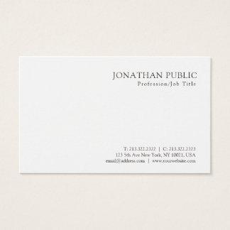 Cartão De Visitas Design elegante profissional moderno de
