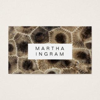 Cartão De Visitas Design moderno da pedra do abstrato da pedra de