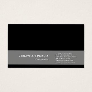 Cartão De Visitas Design moderno profissional que tende o cinza