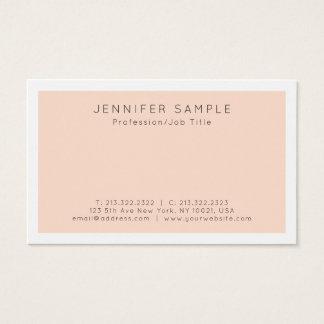 Cartão De Visitas Design profissional criativo moderno elegante do