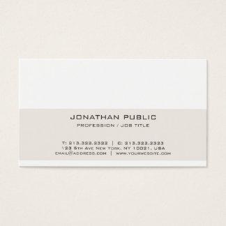 Cartão De Visitas Design profissional liso mínimo elegante moderno
